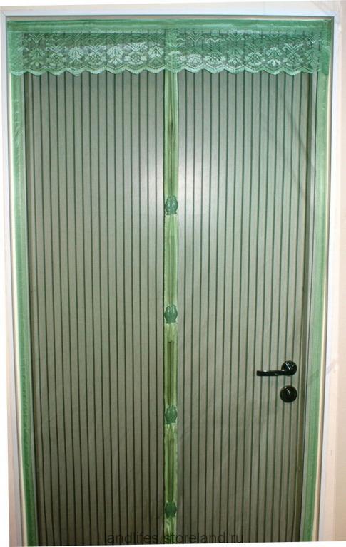 Сетка на дверь от комаров на магнитах своими руками